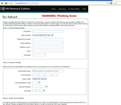 Tax Credit Form Phone Number Warning Tax Credits Refund Phish Malwarebytes Labs