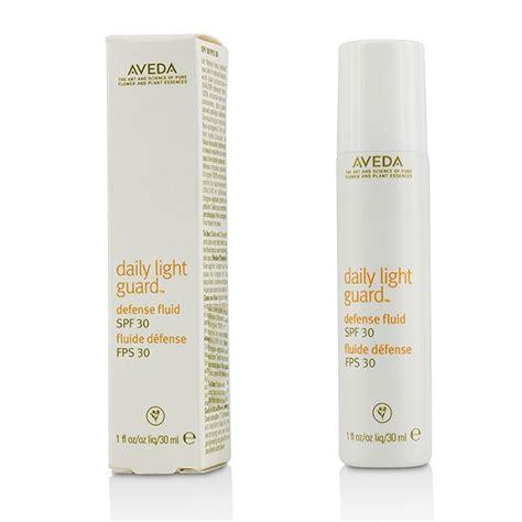 aveda daily light guard defense fluid broad spectrum spf 30 aveda daily light guard defense fluid spf 30 fresh