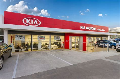 Kia Car Lot Adrian Brien Kia Car Dealers St Marys South Australia