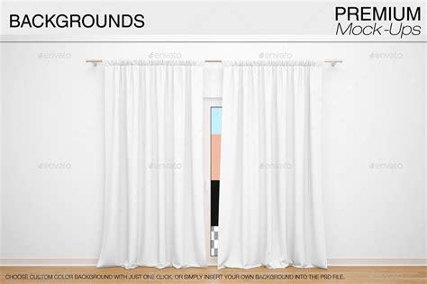 mock curtains curtain mockup psd free memsaheb net