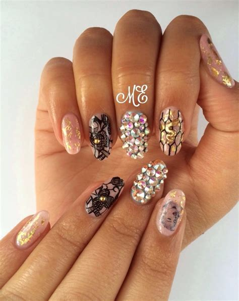 nail art latest glamourcom delicate glamour nail art by miriam nailpolis museum of