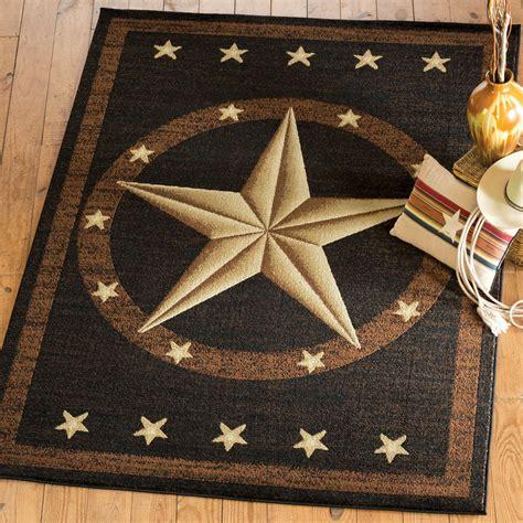 texas star home decor texas star rug western rustic cowboy black brown area rug