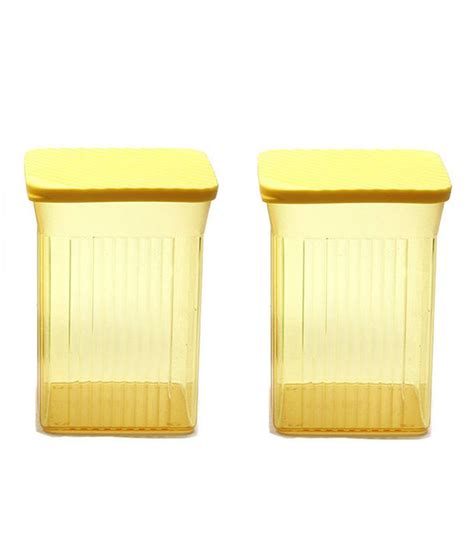 tupperware family mate plastic containers set of 2 buy at best price in india snapdeal