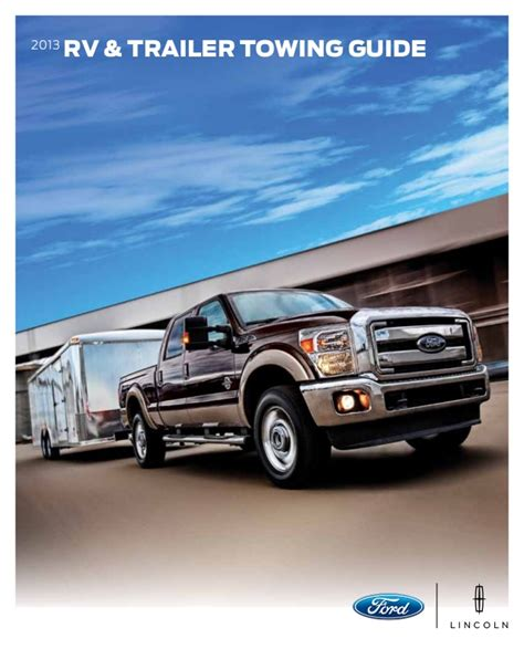 Ford Towing Guide by 2013 Ford Towing Guide Louisville Ford Dealer