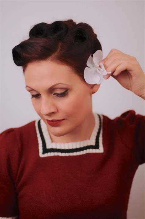 1950s updo hairstyles 59 best images about vintage hair on pinterest 1950s