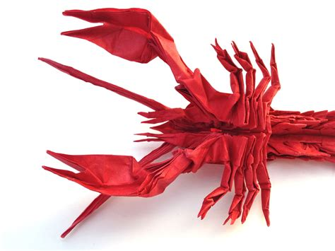 Origami Lobster - jason s ku s homepage