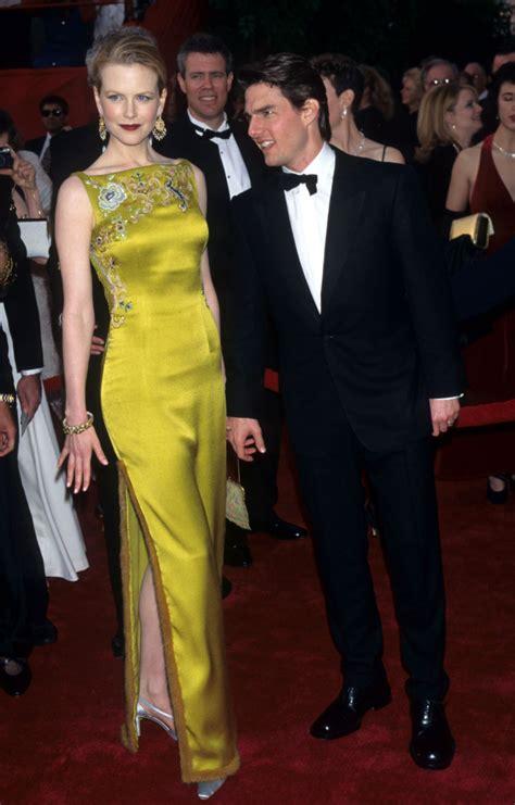 Catwalk To Carpet Kidman by Kidman Tom Cruise 1997 Oscars Carpet Fashion