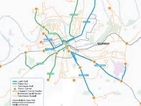 metro maps nashville nashville transit plan avenue light rail line