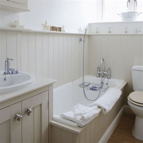 tongue and groove bathroom ideas modern country style farrow and ball shaded white colour