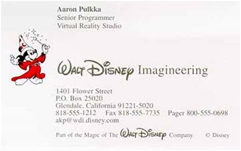 disney business card template disney business card image collections business card