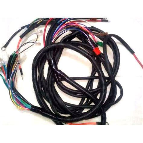 electronic wiring harness wiring diagram with description