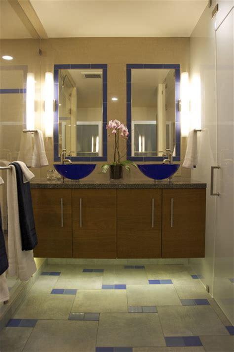 alameda mid century modern master bath