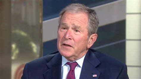 w bush george w bush opens up on trump s war with the media