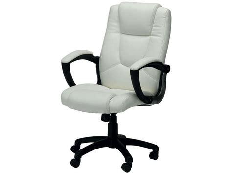 fauteuil de bureau conforama fauteuil de bureau sam coloris blanc vente de fauteuil de bureau conforama
