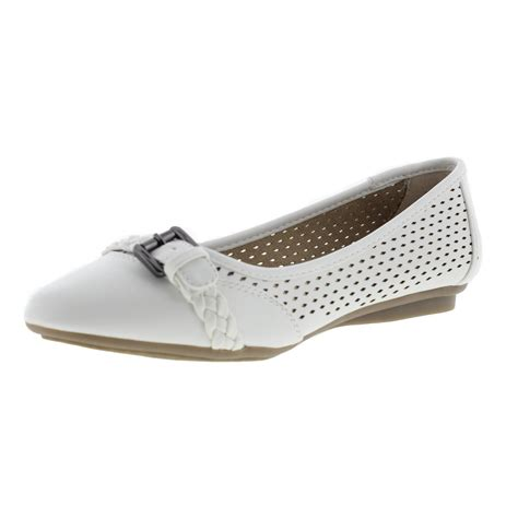 white mountain shoes flats cliffs by white mountain 4174 womens jelly faux leather