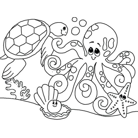 Printable Animal Coloring Pages