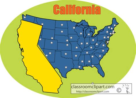 california state colors california california state map color circle classroom