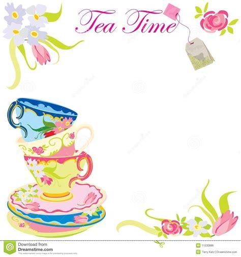 afternoon tea invitation templates cloudinvitation com