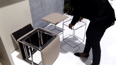 resource furniture ottoman turns into five chairs