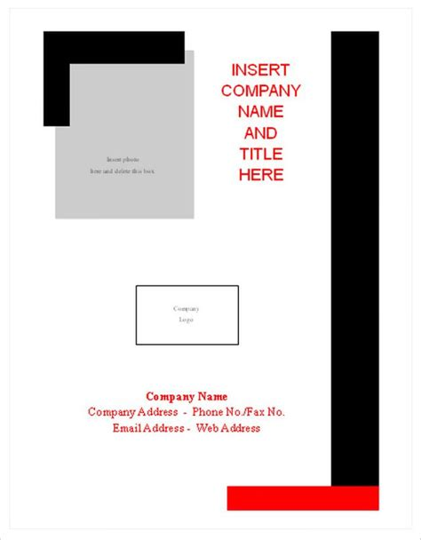 Permalink to Microsoft Word Cover Page Templates Free Download