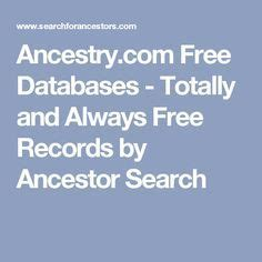 Totally Free Records Best 25 Ancestor Search Ideas That You Will Like On Family Genealogy