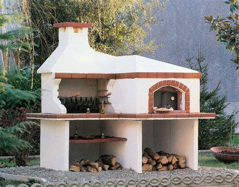 forni e barbecue da giardino barbecue forno forno 805 toscana marmi