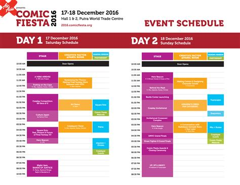 schedule of events template event program schedule sle driverlayer search engine