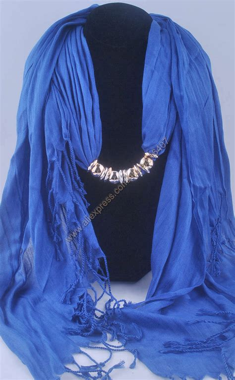 Pashmina Cotton Scarf Murah 27colors fashion scarf pendant scarf jewelry scarf necklace yarn cotton scarves tassel shawl