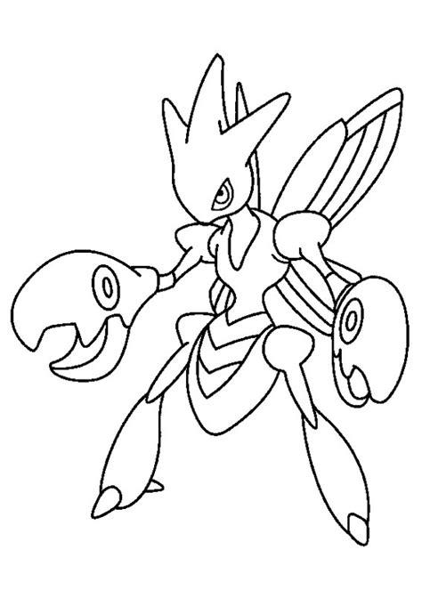 pokemon coloring pages hawlucha 102 disegni dei pok 233 mon da stare e colorare