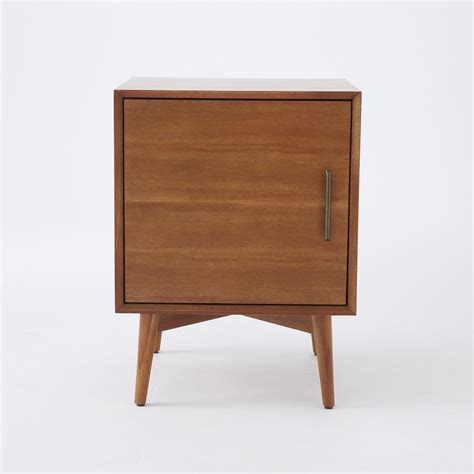 Side Table With Door mid century door side tables acorn west elm au