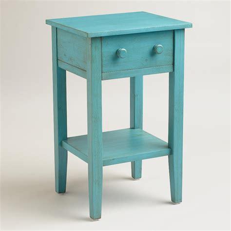sky blue sara nightstand world market