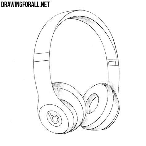 how to make doodle headphones drawing www pixshark images galleries