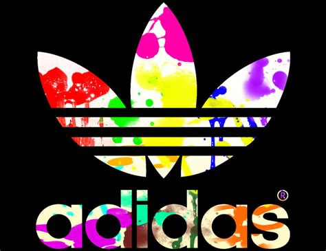 x logos color adidas