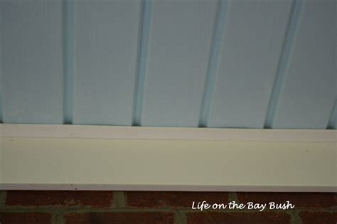 Vinyl Porch Ceiling by Painted Porch Ceiling On The Bay Bush