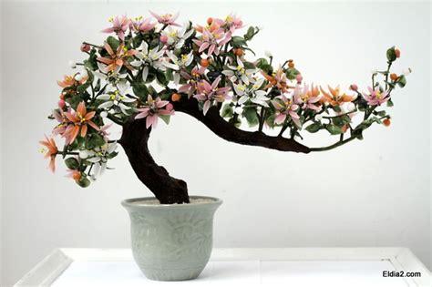vintage japanese jade glass bonsai tree celadon vase