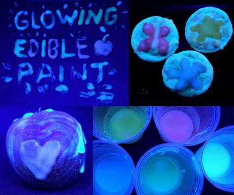 glow in the paint edible 107 best the sea images on anniversary