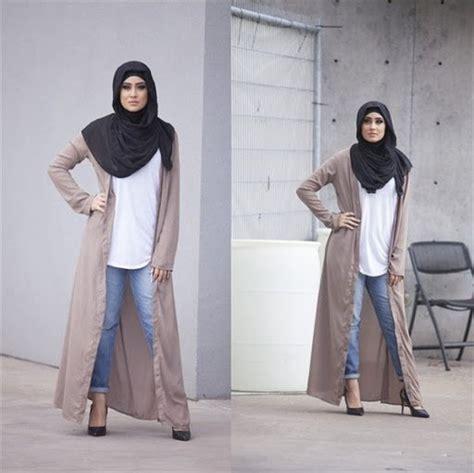 Cardigan Panjang Muslim Cardigan Memang Luaran Yang Pas Agar Penilan