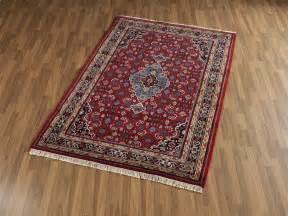indischer teppich indischer bidjar teppich rot 5 40 kn 252 pfung heineking24 de