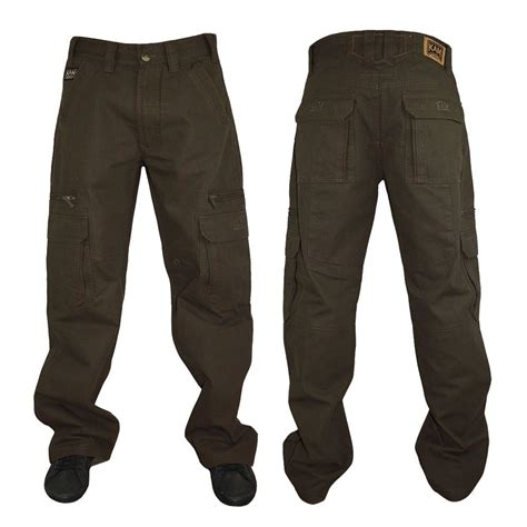 Big Size 36 Dan 38 Chino Pant mens kam cargo trousers chinos relaxed fit big