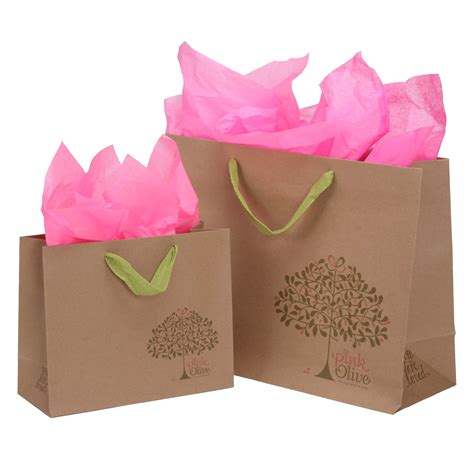 Paper Bag Custom package design commercial custom retail packaging kraft