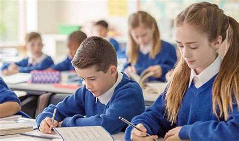 New Rules Will See Parents Fined 163 60 If Their Child Is Late For School Uk News Express Co Uk Images Of Children At School