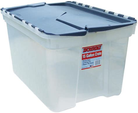 home design products 12 gallon flip top tote 15 gallon blue flip top tote at menards 174