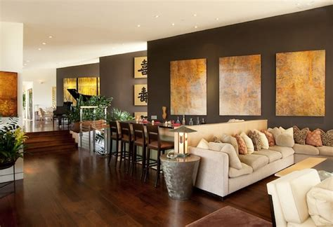 Accent Wall Colors Living Room by Commanding A Presence Accent Walls That Make A Statement