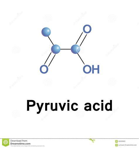 pyruvic ketone acid stock photo image