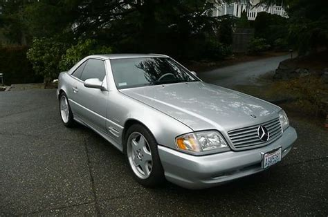 automotive air conditioning repair 2002 mercedes benz sl class auto manual sell used 2002 mercedes benz sl500 base convertible 2 door 5 0l in gig harbor washington