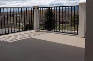 Patio Railing Height Fort Collins Co Deck Railing Vinyl Wood Composite By