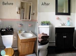 Reasonable Bathroom Makeovers Small Bathroom Makeovers Tips Home The Inspiring