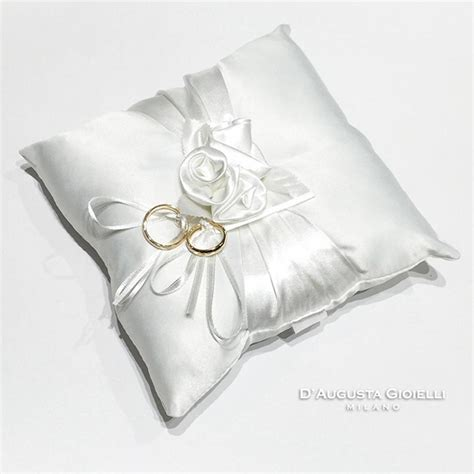 cuscini porta fedi nuziali cuscino portafedi d augusta gioielli