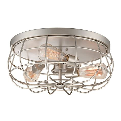 shop millennium lighting neo industrial 15 5 in w satin