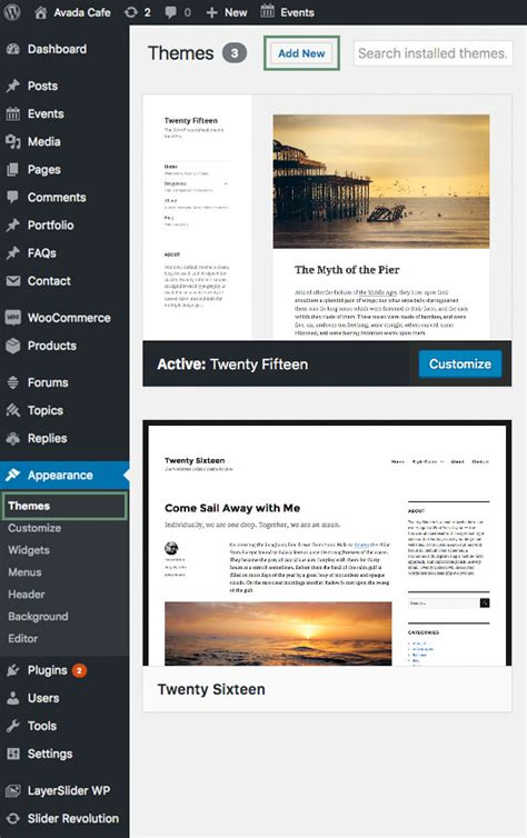install avada themes how to update the theme theme fusion